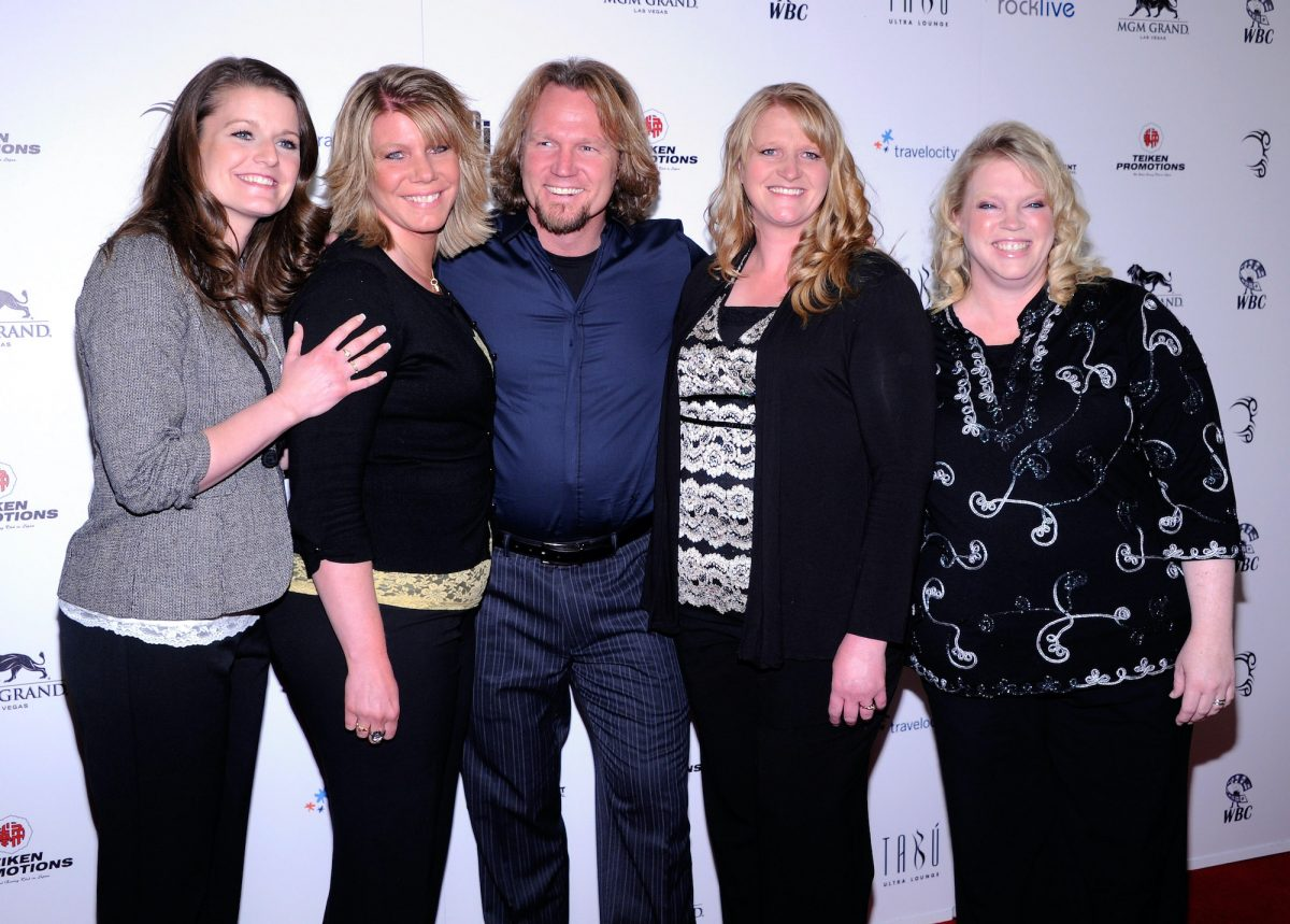 Robyn Brown, Meri Brown, Kody Brown, Christine Brown and Janelle Brown from 'Sister Wives'