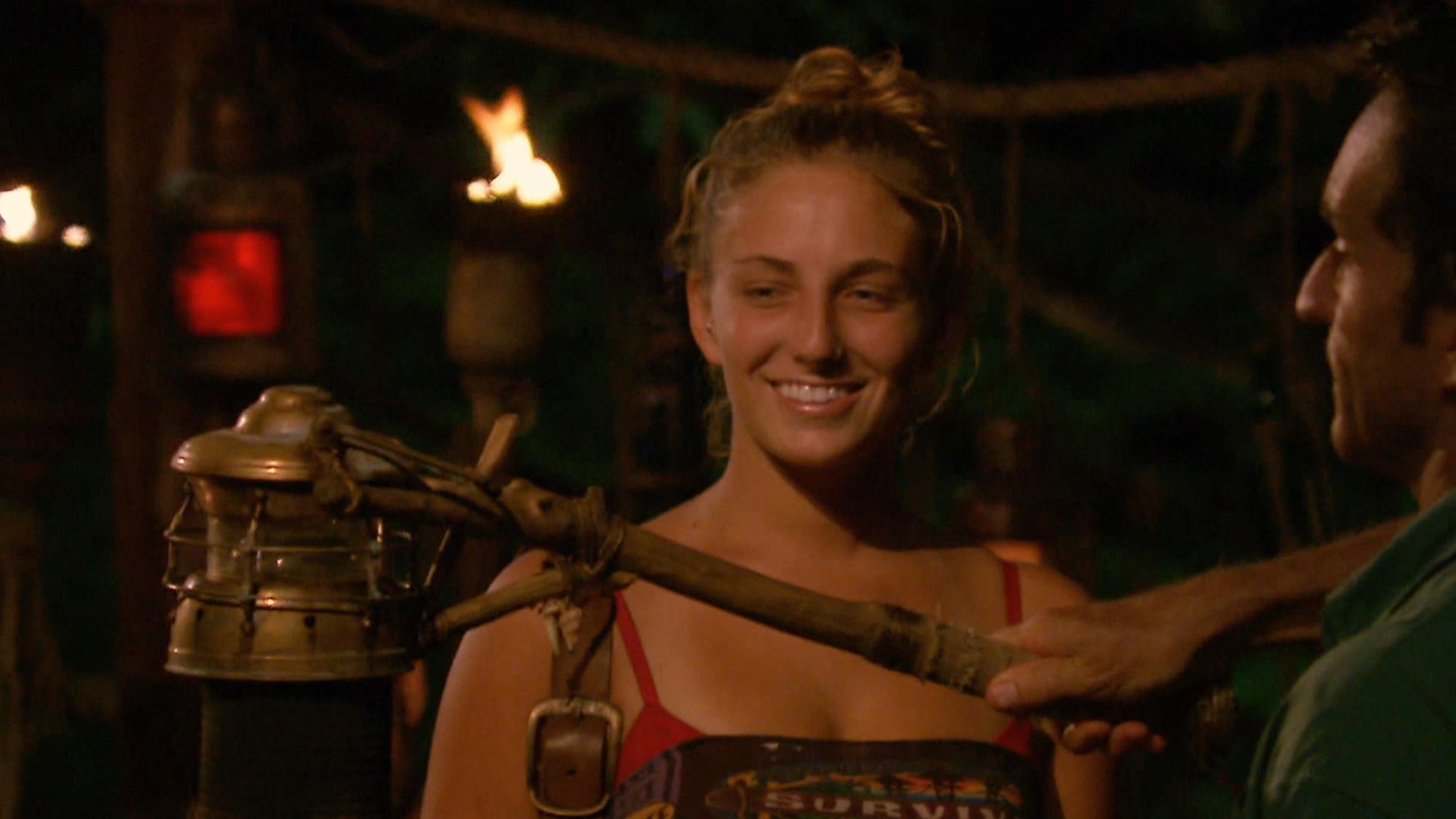 Jeff Probst bids Survivor star Jenn Brown farewell after tribal council
