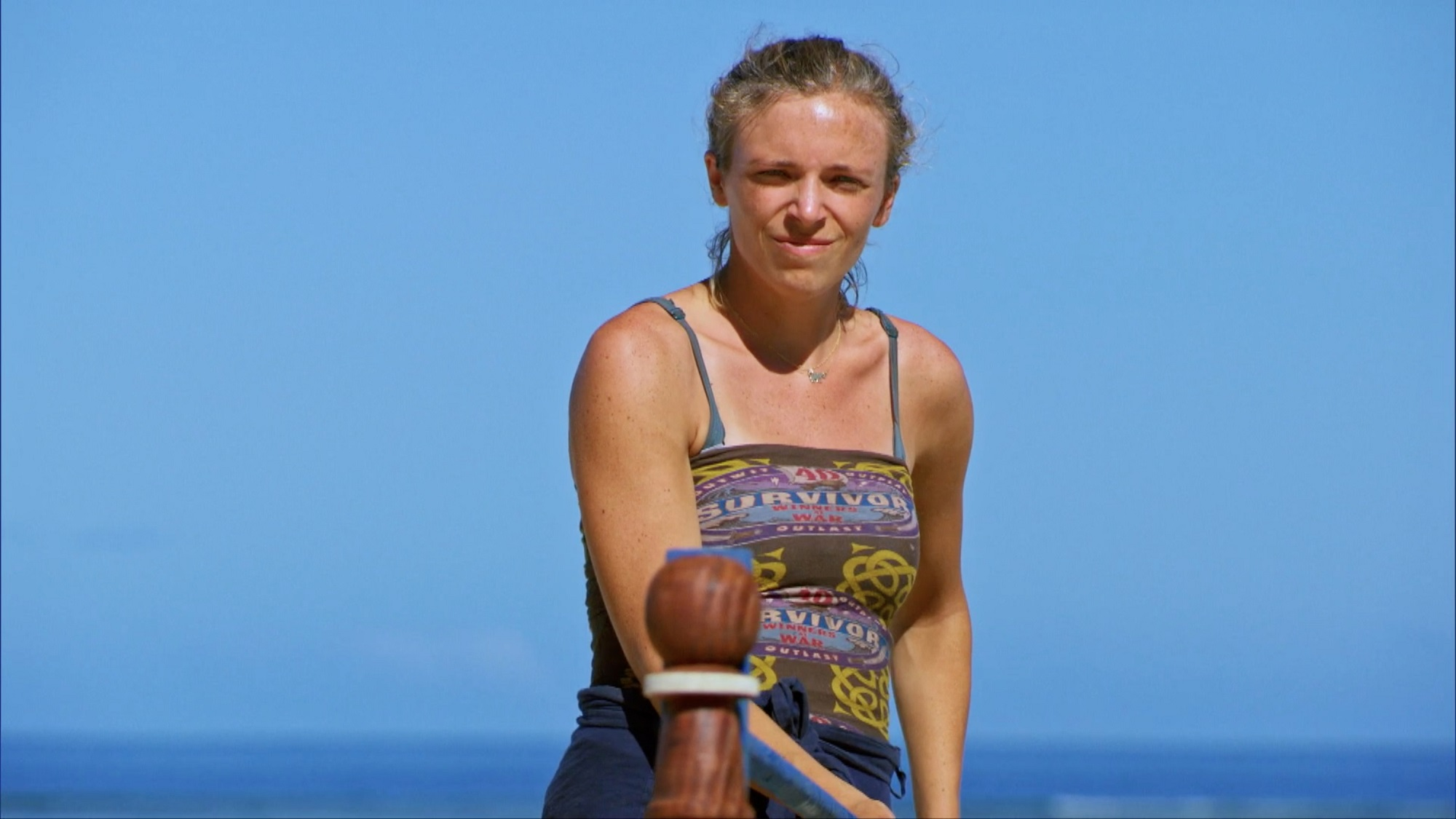 Sophie on Survivor: South Pacific