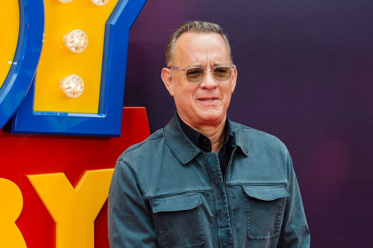 Tom Hanks arrives for the European film premiere of 'Toy Story 4' at Odeon Luxe, Leicester Square