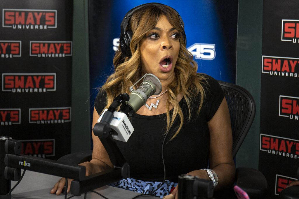 Wendy Williams as a guest on SiriusXM