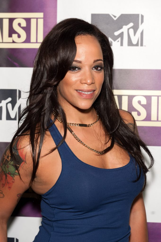 Aneesa Ferreira from 'The Challenge: All Stars' attends MTV's 'The Challenge: Rivals II' final episode and reunion party