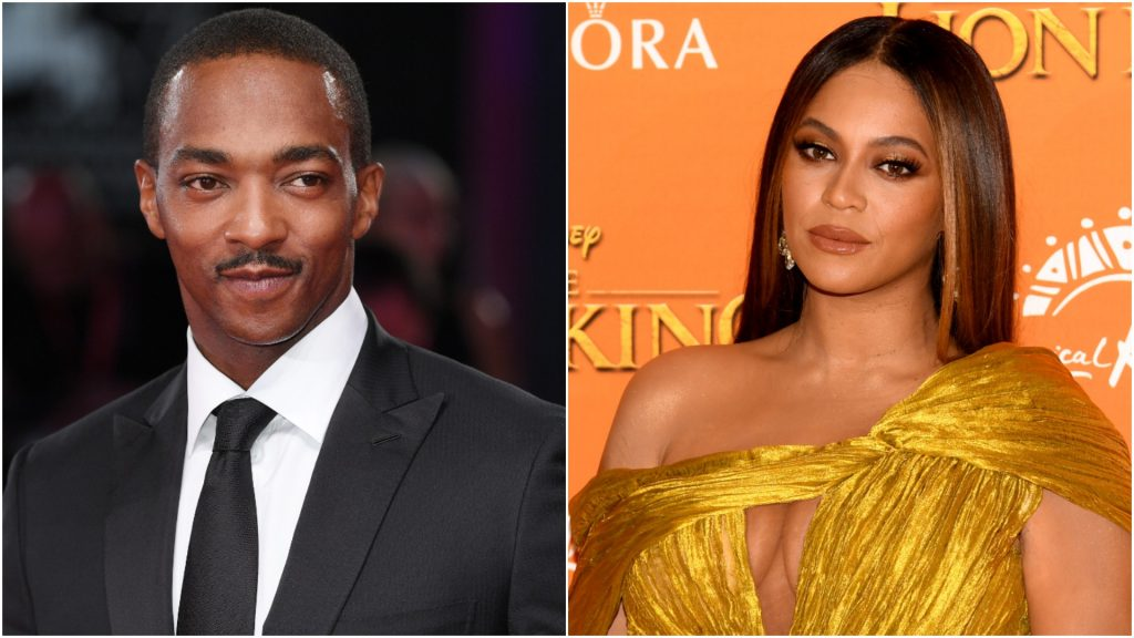 Anthony Mackie and Beyoncé