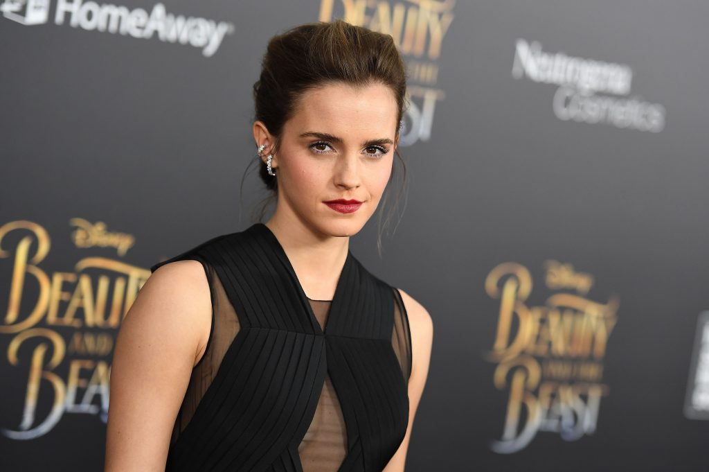 Actress Emma Watson attends the New York special screening of Disney's live-action adaptation 'Beauty and the Beast'