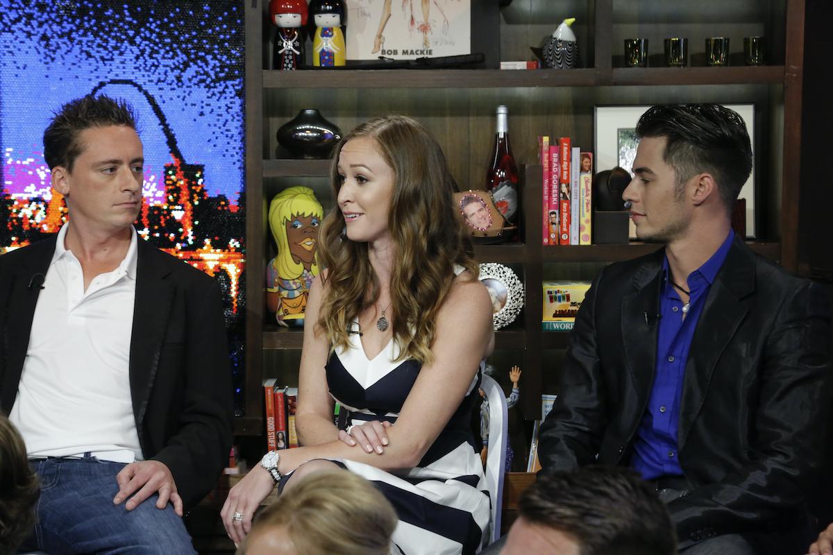 Ben Robinson, Adrienne Gang, David Bradberry during Below Deck Season 1 reunion