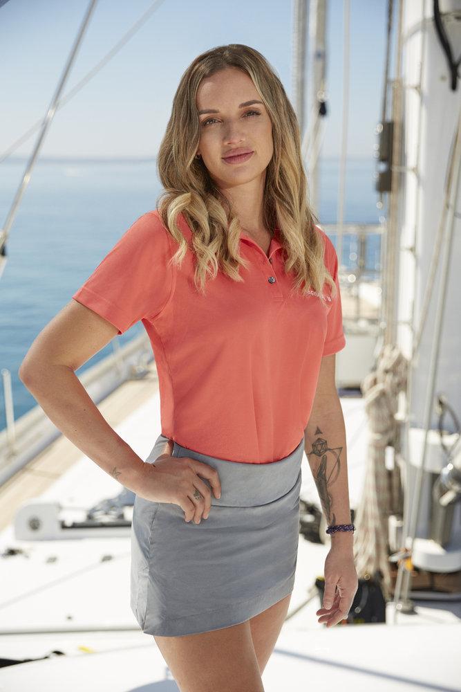 Alli Dore from Below Deck Sailing Yacht