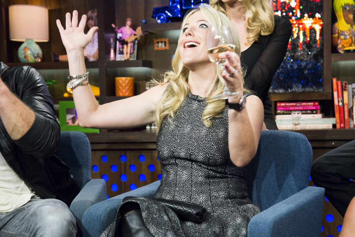 Beth Stolarczyk on Watch What Happens Live with Andy Cohen