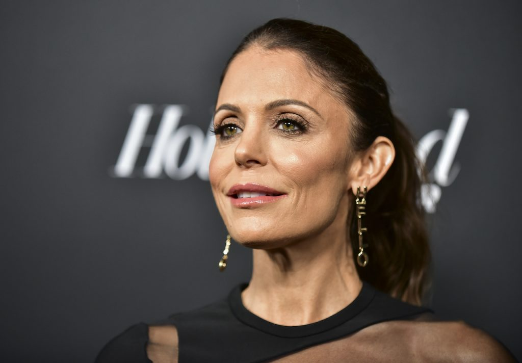 Former 'RHONY' star Bethenny Frankel speaks to reporters as she attends The Hollywood Reporter and SAG-AFTRA Celebrate Emmy Award Contenders at Annual Nominees Night