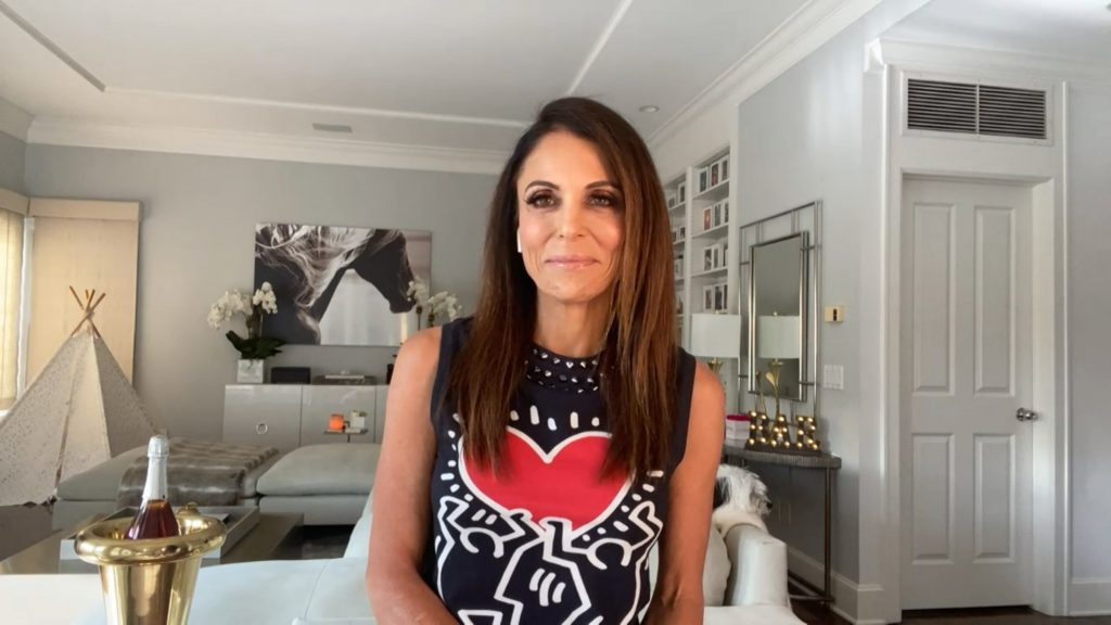 Bethenny Frankel of 'The Big Shot with Bethenny' smiles for an interview
