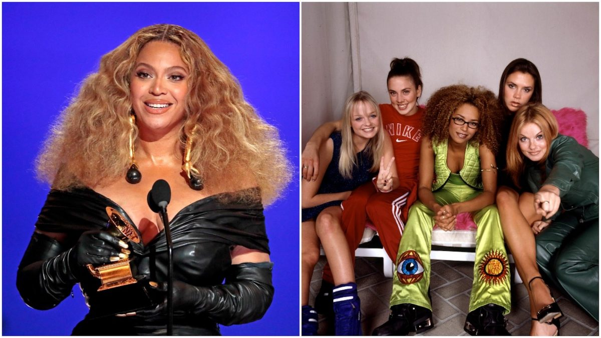Beyoncé and The Spice Girls