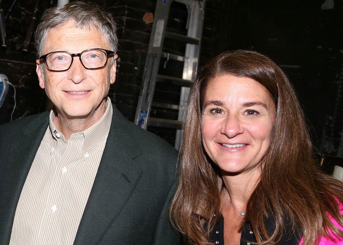 Bill and Melinda Gates visit Broadway