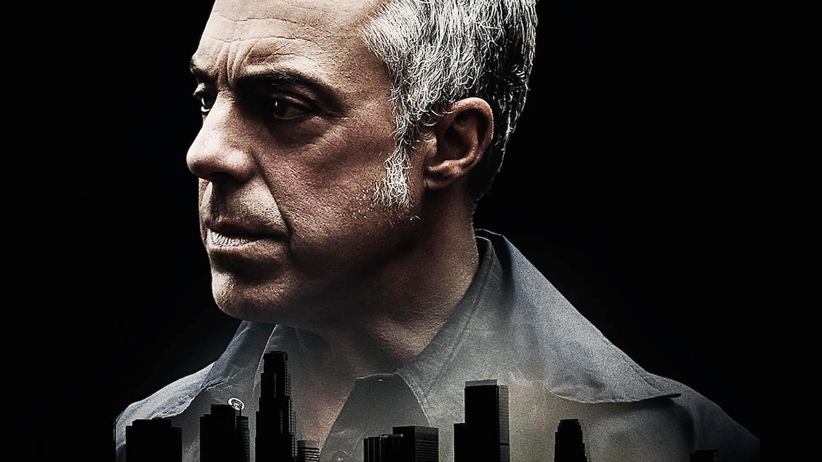 Star Titus Welliver on a poster for 'Bosch' Season 7 | Amazon Prime Video