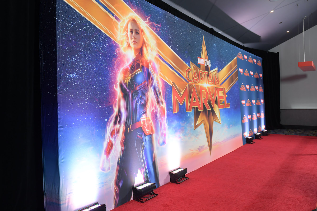 A general view of atmosphere at the 'Captain Marvel' Canadian premiere in Toronto in 2019 | GP Images/Getty Images for Disney Studios