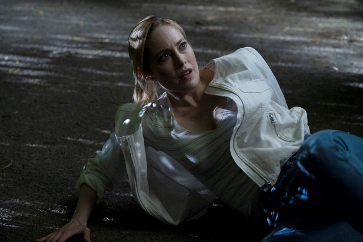 Charlotte Sullivan as Gina on 'Law & Order Organized Crime'