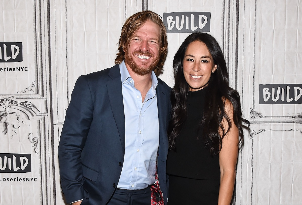 Chip and Joanna Gaines attend the Build event