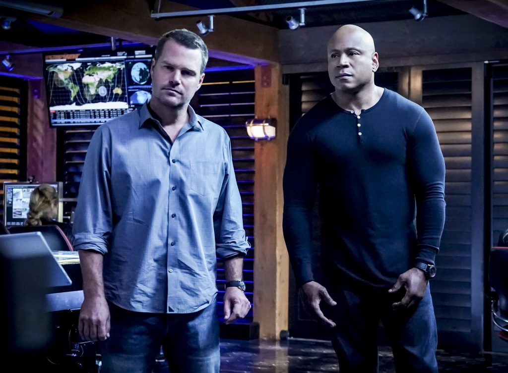 Chris O'Donnell and LL Cool J on NCIS: Los Angeles