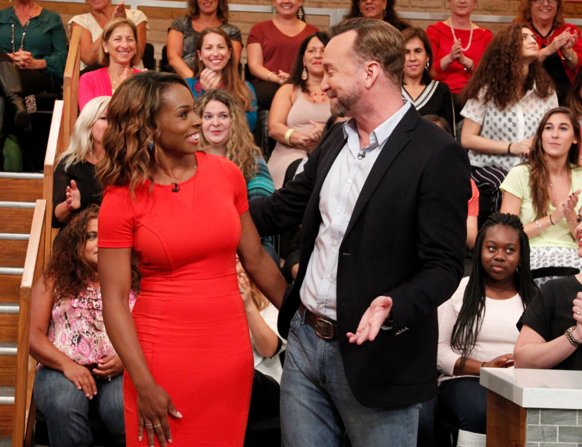 Devyn Simone is the guest on Sept. 30, 2015 episode of 'The Chew'