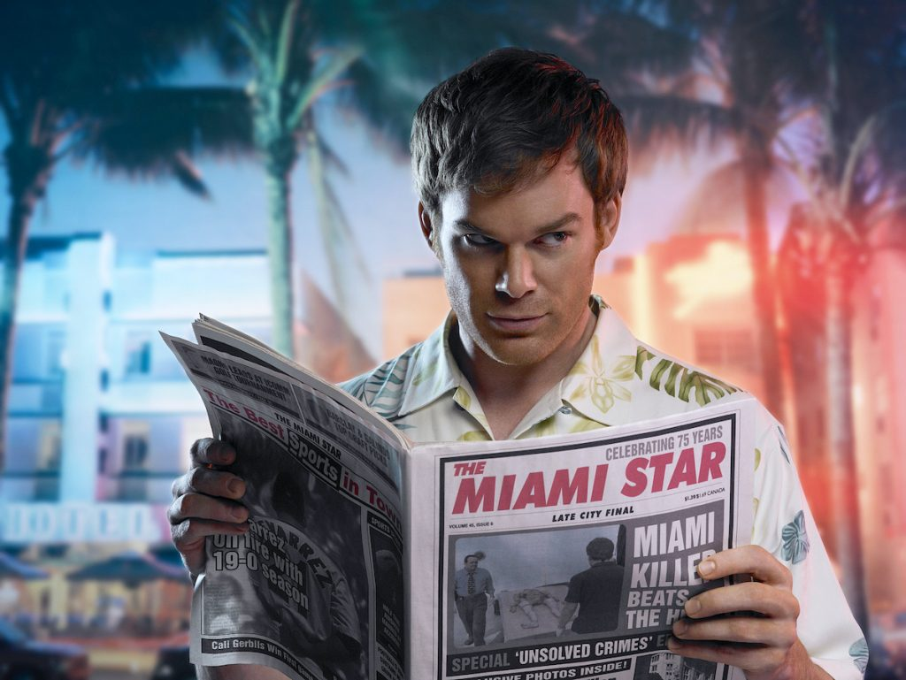 Michael C. Hall as Dexter Morgan, who may use a similar tactic in the reboot episodes