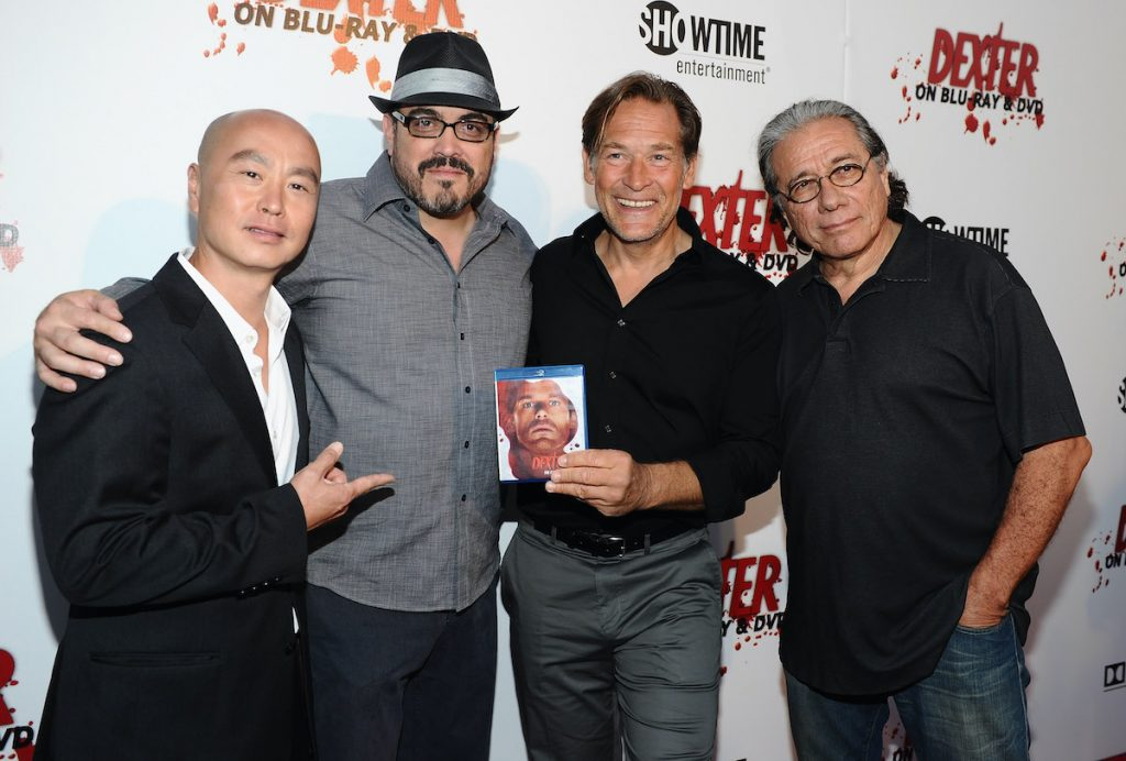 C.S. Lee, David Zayas, James Remar, and Edward James Olmos from the cast of 'Dexter'