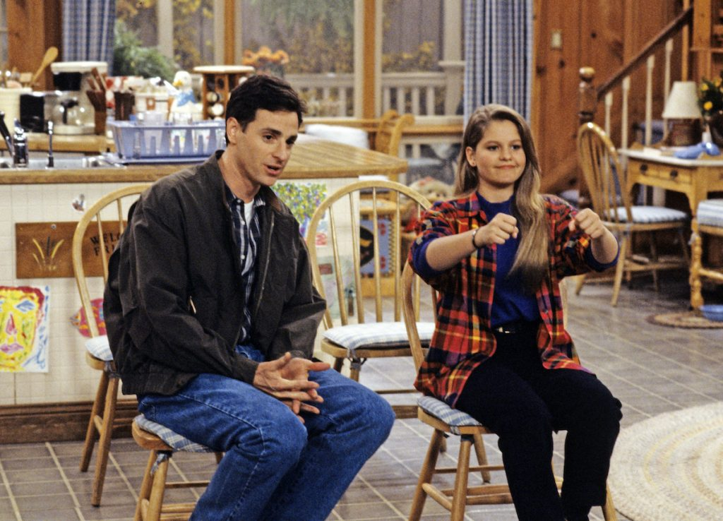 'Full House' episode titled 'Driving Miss D.J.' featuring Candace Cameron Bure and Bob Saget