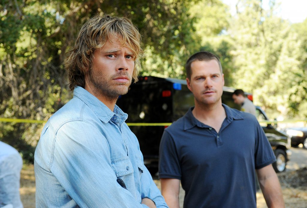Eric Christian Olsen and Chris O'Donnell on 'NCIS: Los Angeles