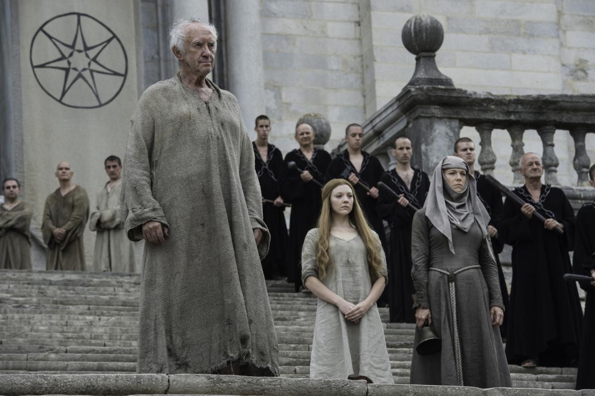 'Game of Thrones' stars Jonathan Pryce, Natalie Dormer, Hannah Waddingham in season 6 episode 6