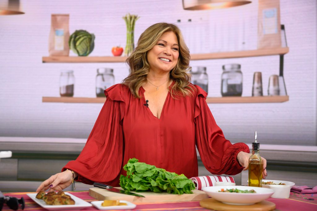 Actor and Food Network personality Valerie Bertinelli smiles for the camera