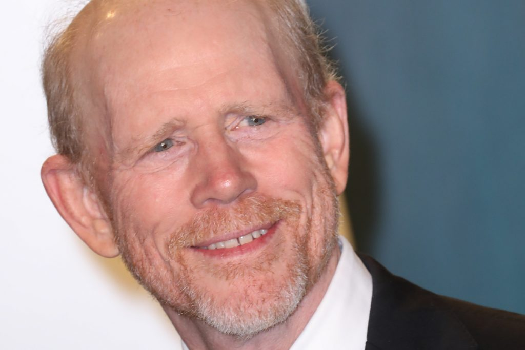 Actor and director Ron Howard smiles during a 2020 Oscars party