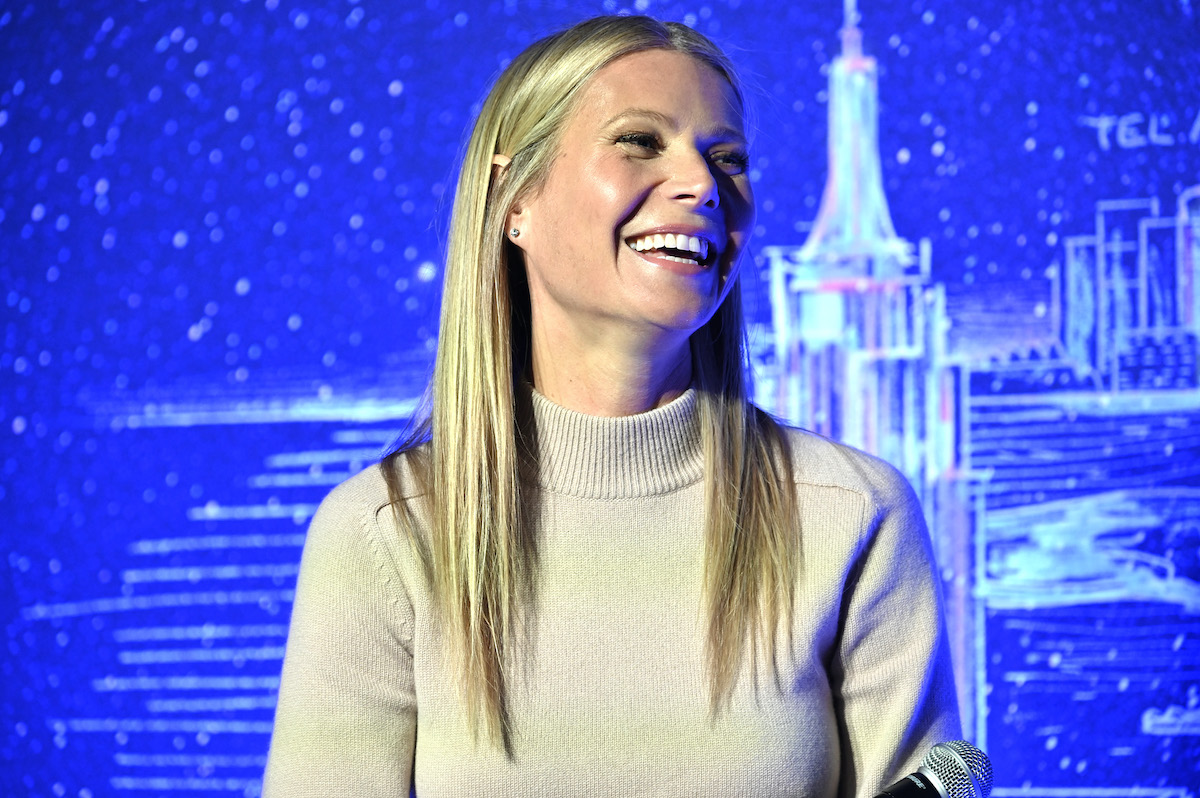 Gwyneth Paltrow during a panel discussion in 2020 in New York City