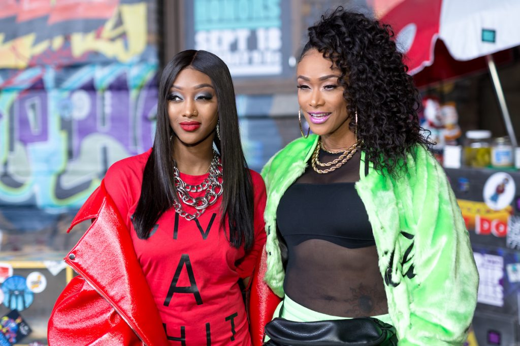 Jazz Anderson and Tami Roman