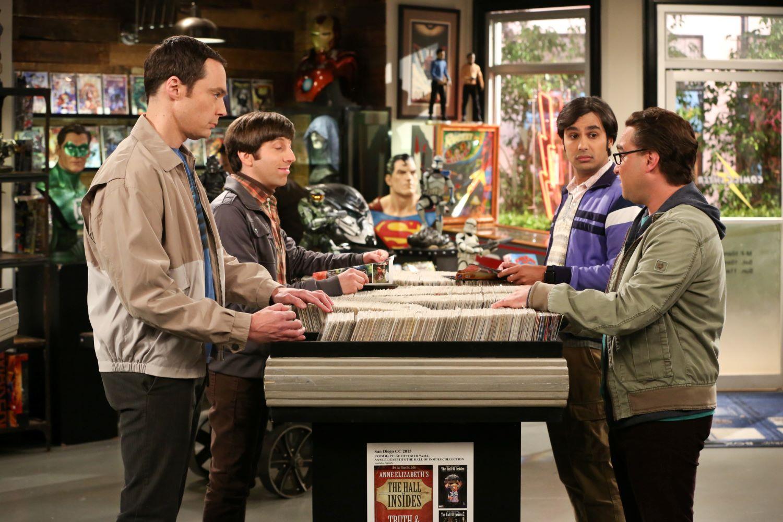 Jim Parsons, Simon Helberg, Kunal Nayyar, and Johnny Galecki in 'The Big Bang Theory'