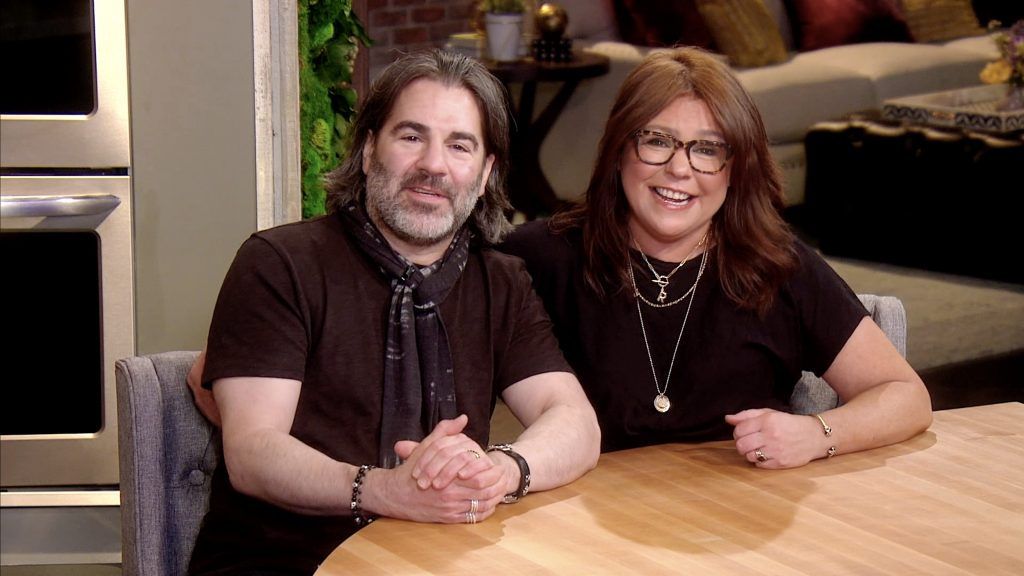 John Cusimano and Rachael Ray speak during the City of Hope's East End Chapter/Jeanne Kaye League Of New York City's Spirit Of Life Awards