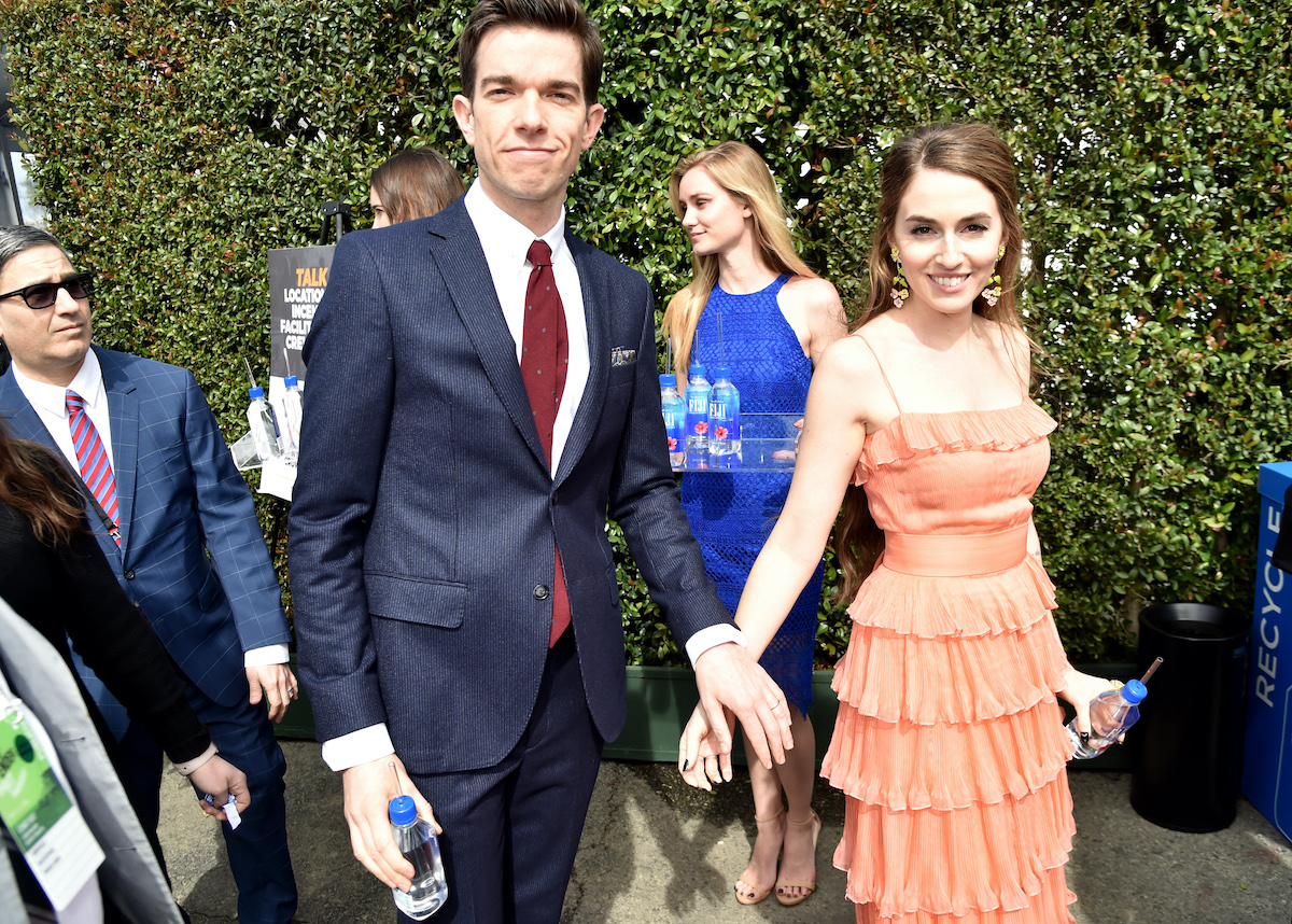 John Mulaney and Annamarie Tendler during the 33rd Annual Film Independent Spirit Awards in 2018