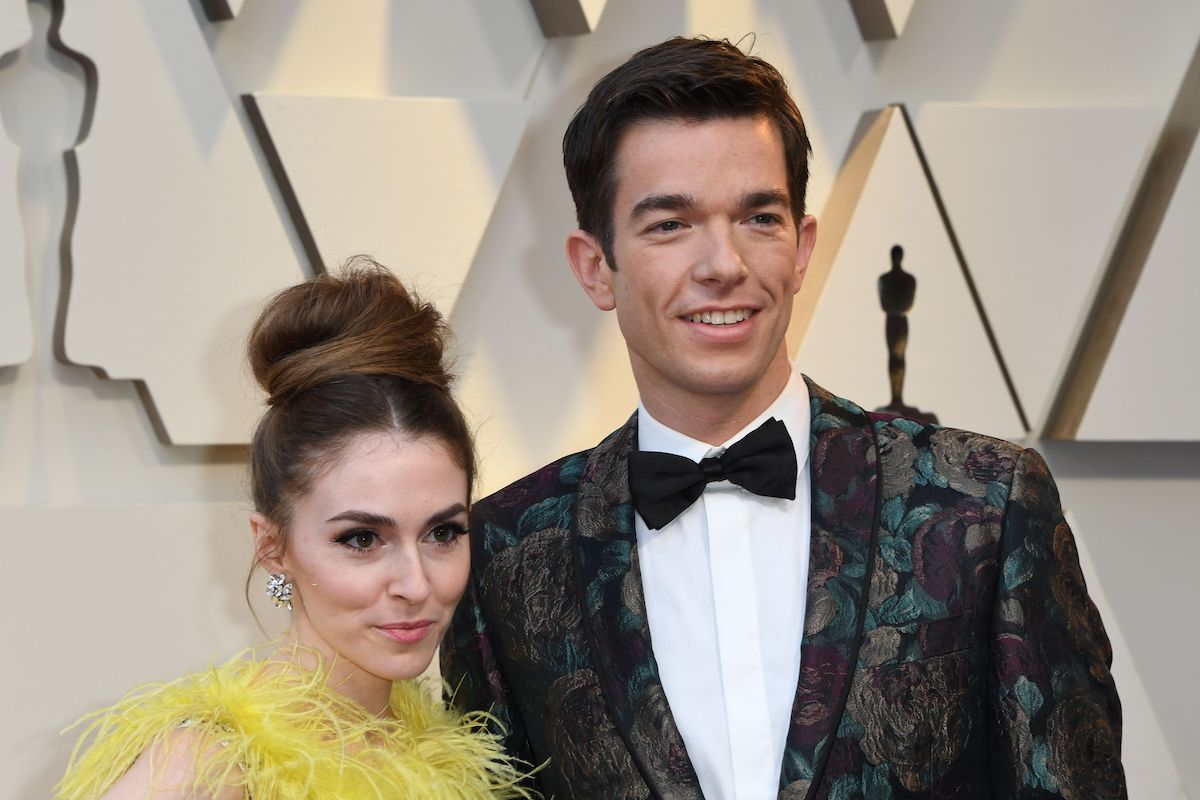 John Mulaney and his wife Anna Marie Tendler attend the 91st Annual Academy Awards in 2019