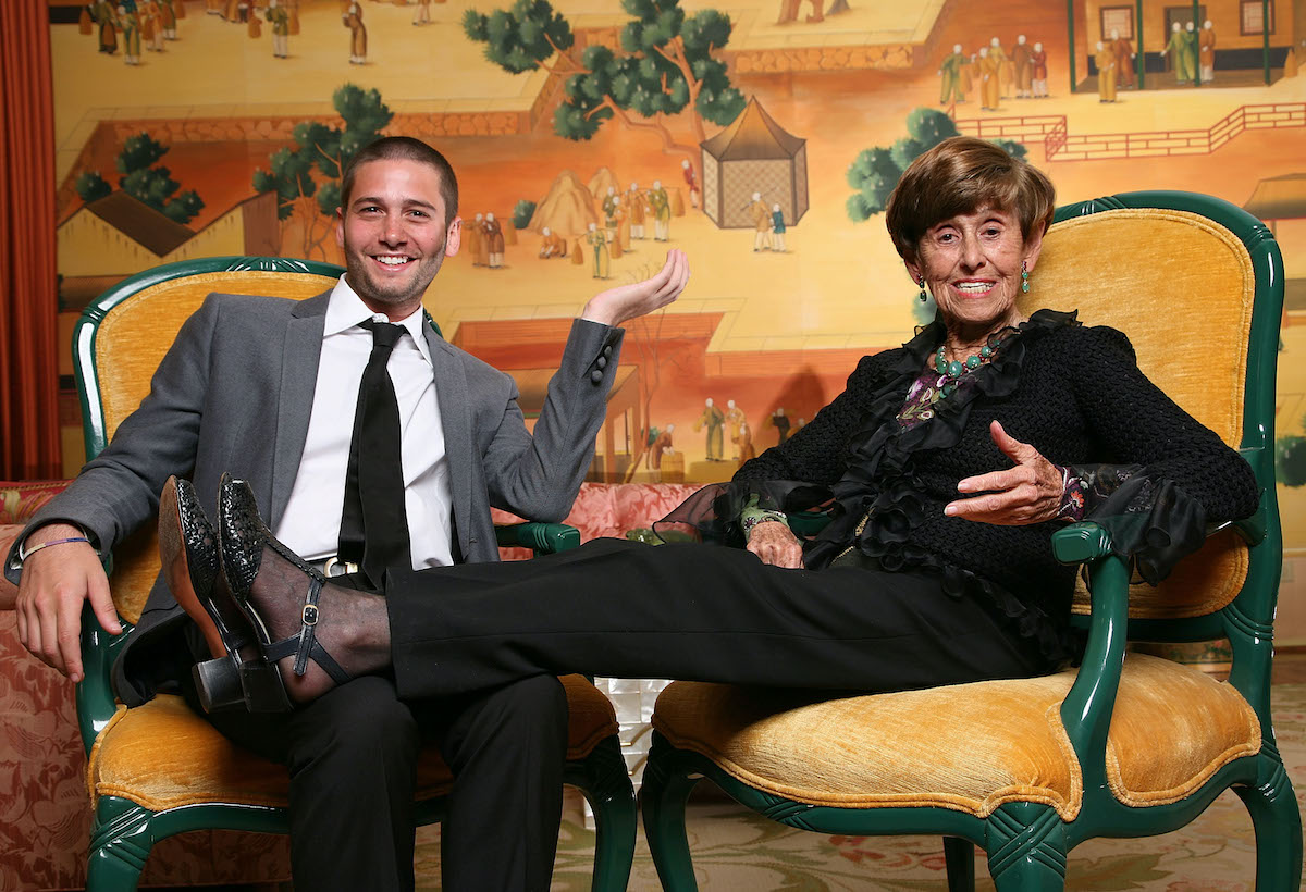 Josh and Edith Flagg from Bravo's Million Dollar Listing Los Angeles in 2009