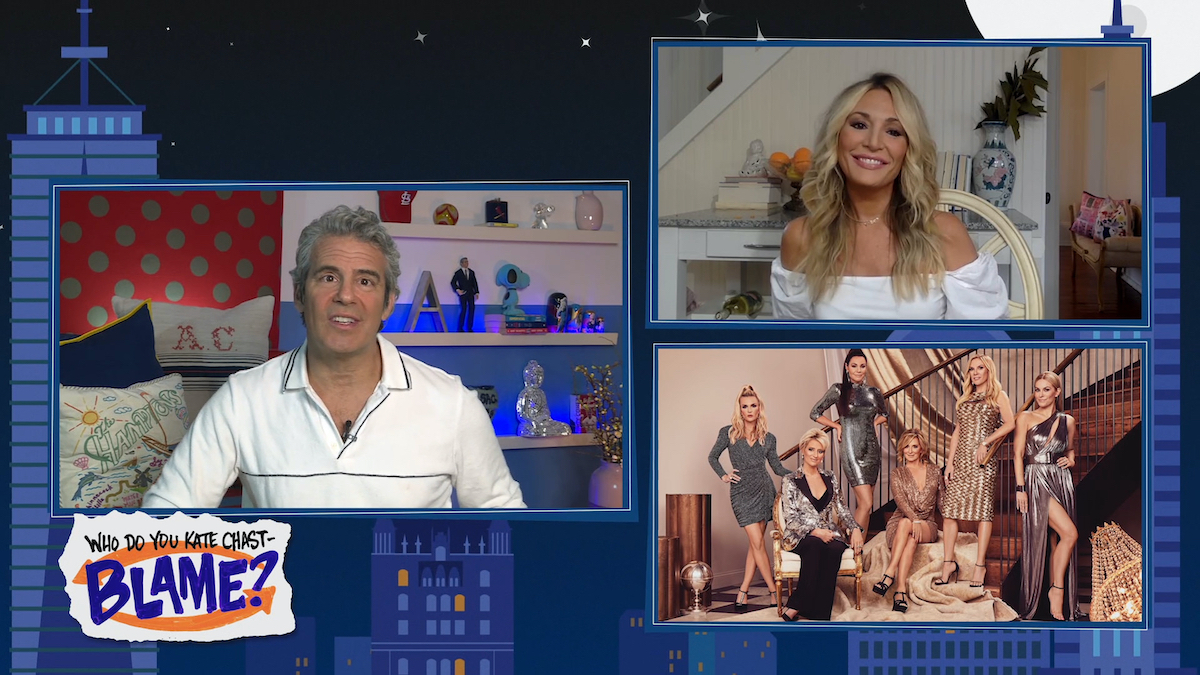 Andy Cohen, Kate Chastain on WWHL