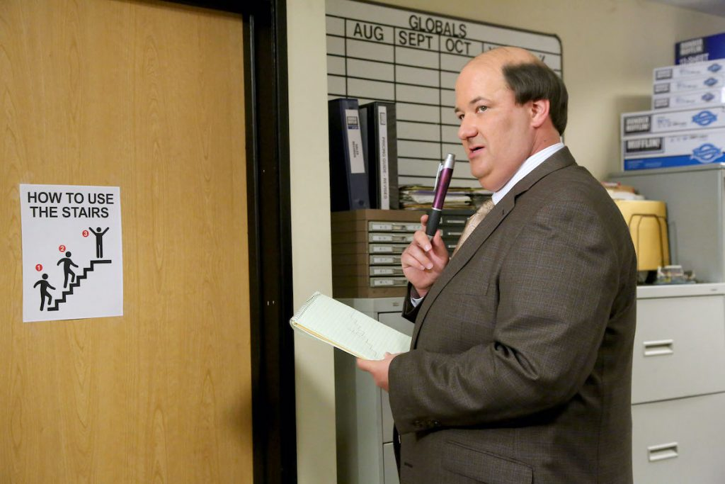 Brian Baumgartner, who has become known for Kevin Malone's chili on 'The Office'