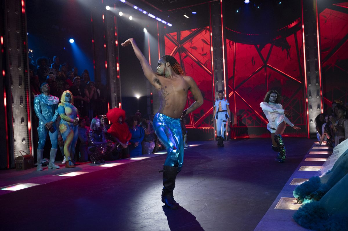 A man dances on stage in 'Legendary'