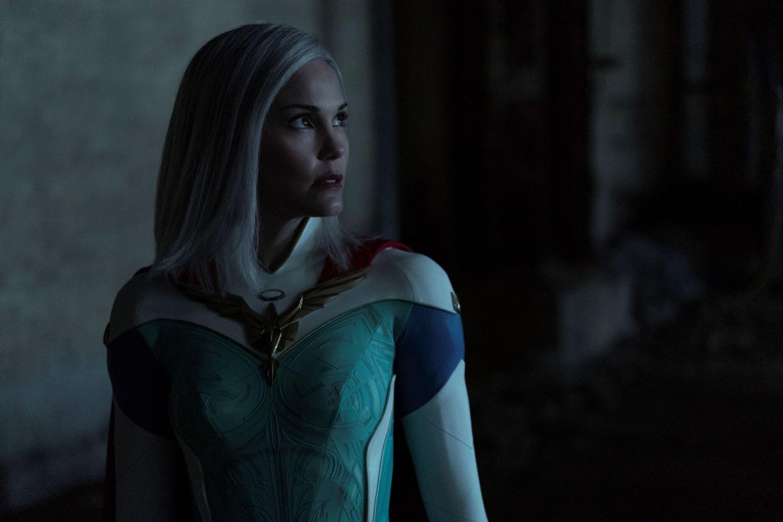 Leslie Bibb as Lady Liberty in 'Jupiter's Legacy'