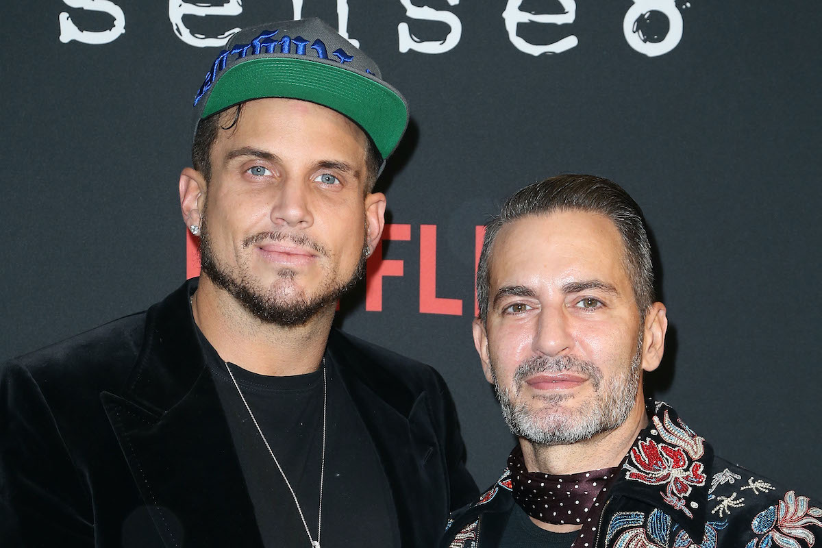 Charly Defrancesco and Marc Jacobs at a movie premiere in  2017