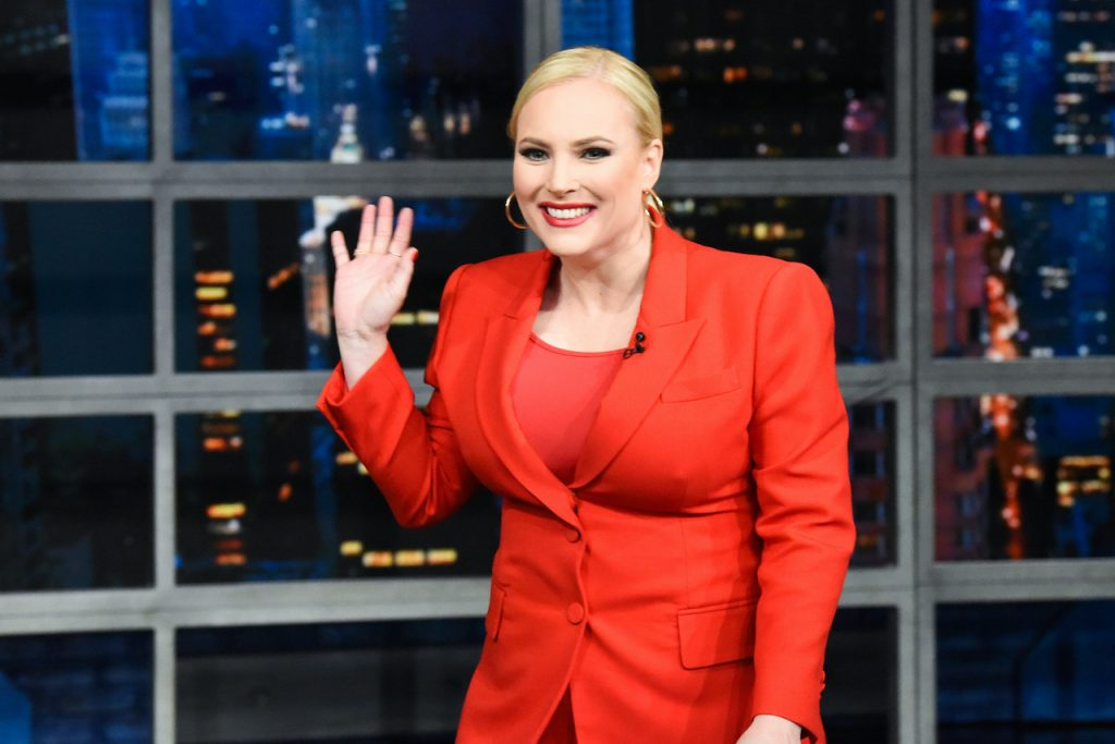 Meghan McCain of 'The View' appears on 'The Late Show with Stephen Colbert'