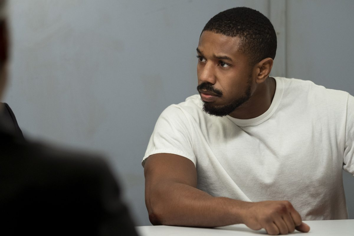 Michael B. Jordan in a white T-shirt in 'Tom Clancy's Without Remorse'