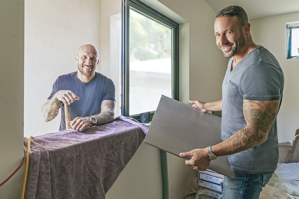 Inside Out Hgtv Hosts Carmine And
