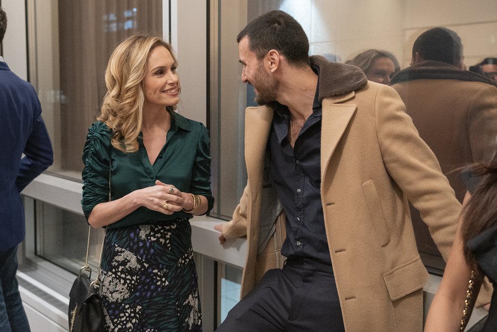 Kirsten Jordan, Steve Gold at a Million Dollar Listing broker's open