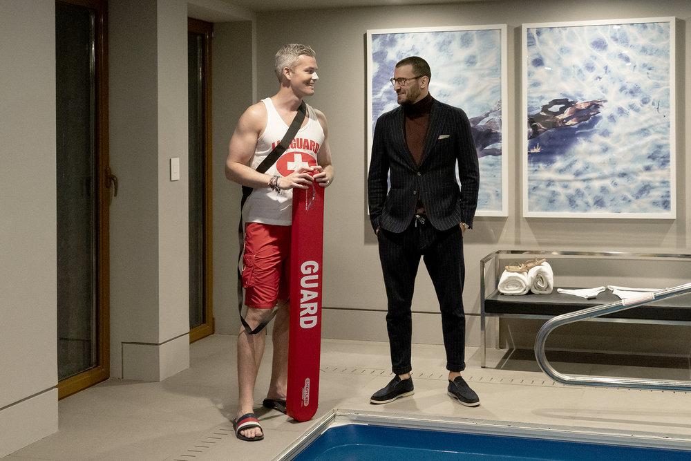 Ryan Serhant, Steve Gold meet during Ryan's broker's open on Million Dollar Listing New York