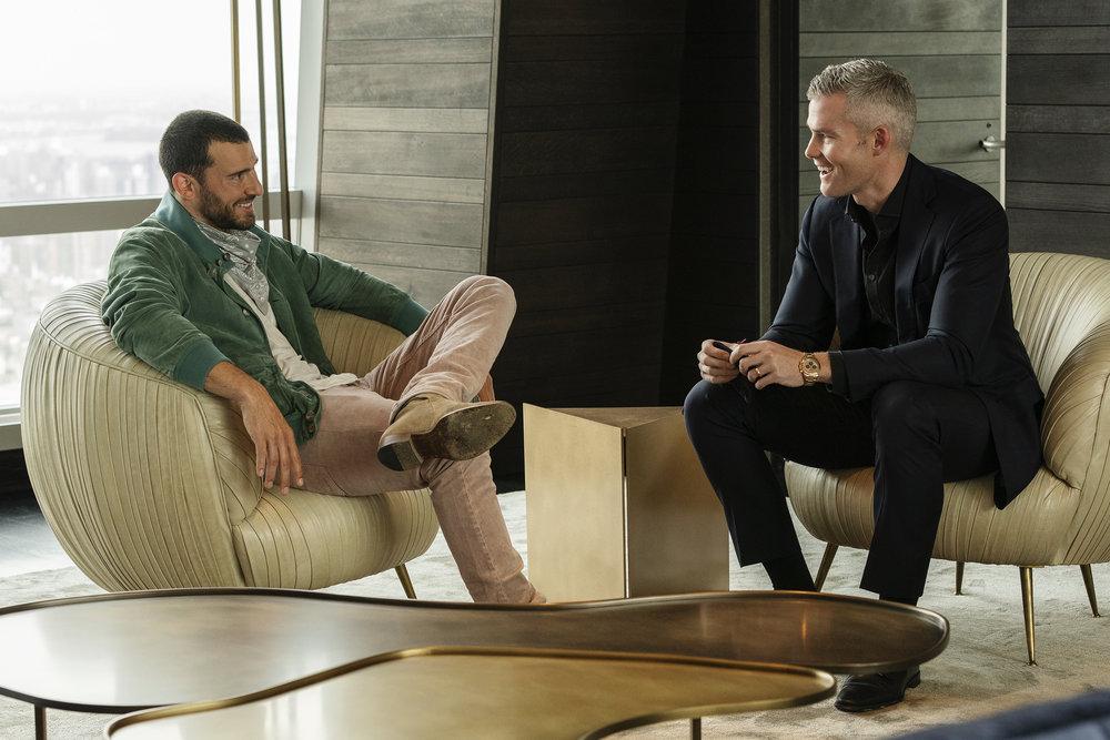 Steve Gold talks with Ryan Serhant on Million Dollar Listing New York
