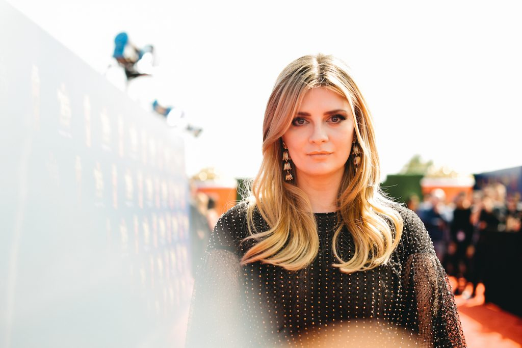 Mischa Barton, an actor from the FOX series 'The O.C.'
