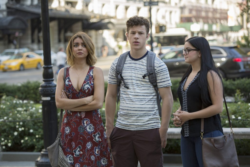 Sarah Hyland, Nolan Gould, and Ariel Winter in 'Modern Family' episode titled 'A Tale of Three Cities'