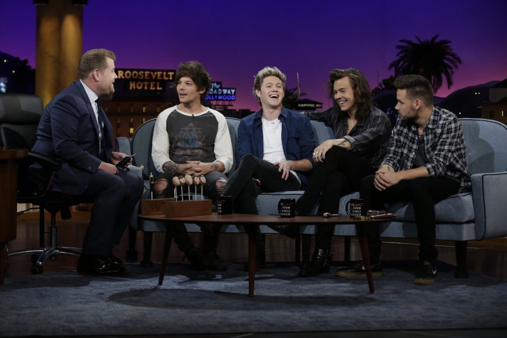 One Direction on 'The Late Late Show with James Corden'