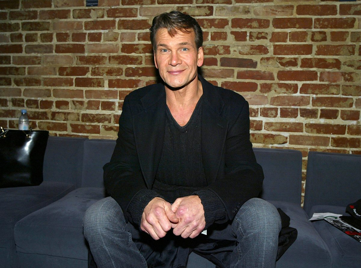 """Patrick Swayze attends the after-party for """"Chicago - The Musical"""" on January 8, 2004 at Cinespace, in Los Angeles, California"""
